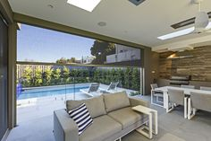 Designed by Australians for the Australian lifestyle, our wide range of Alfresco Blind and Awning systems help you fully enjoy your outdoor living spaces. Outdoor Blinds, Outdoor Shade, Outdoor Rooms, Outdoor Living, Outdoor Furniture Sets, Outdoor Decor, Outdoor Range, Home Insulation, Roller Shutters