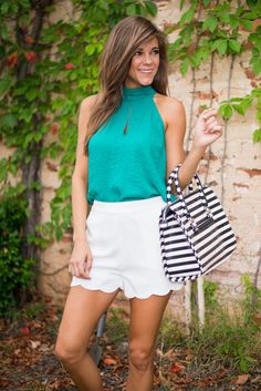 Tied To Your Love Top, Emerald #elegant #ootd #fashion