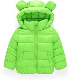 Boys Kids Children Padded Plain Quilted Hooded School Jacket Coat Age 7-13 Navy