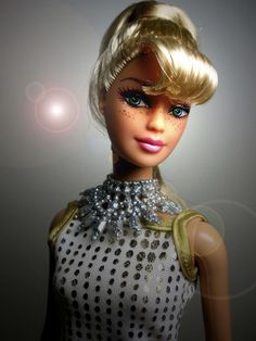 Custom Barbie - ooak - Here and Now Barbie with freckles!Linae Arden | Flickr - Photo Sharing!