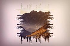 """""""Aquela paixão por montanhas 🗻❤️ #mountain #tree #photoexposure"""""""