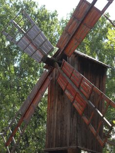 old windmill Old Windmills, Helsinki, Finland, Wood, Travel, Beautiful, Viajes, Woodwind Instrument, Timber Wood
