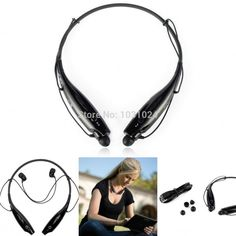 High Quality 2014 New Electric HV-800 Bluetooth Wireless Stereo Headset Neckband Headphone For Cellphone Free Shipping