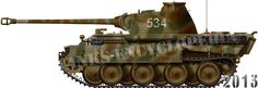 Panther Ausf.A, Wiking