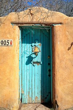 Santa Fe Door - New Mexico