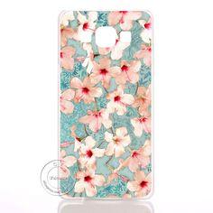 Mandala Flower Datura Floral Clear Hard Plastic Case Cover For Samsung Galaxy A3 A5 A7 A8 J1 J5 J7 2016 A300 A500 A700