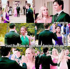 The Vampire Diaries 8x09 - Delena