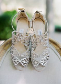 These shoes are magical: http://www.stylemepretty.com/2015/05/05/fall-lakeside-al-fresco-wedding/ | Photography: Sylvie Gil - http://www.sylviegilphotography.com/