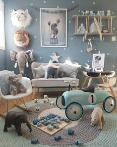 This children's room or nursery space is a dream.
