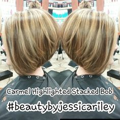 Carmel highlights invited stacked Bob #beautybyjessicariley