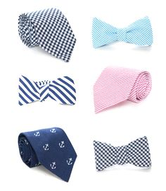 PREPPY TIES FOR THE GUYS