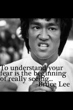 So what do you fear?
