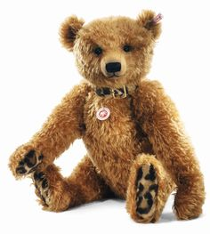 Steiff 035173 Limited Edition Desmond Teddy golden brown with growler 56cm: Amazon.co.uk: Toys & Games