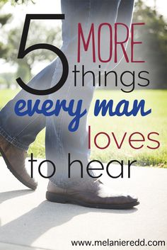 Would you like some advice and tips on what men really like to hear? Whether married, engaged, or in a dating relationship, here are 5 wise, Bible-based principles that can solve problems, enhance your relationship, and give you more positive communication with your man.