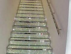 Glitter stairs (swarovski crystals)