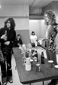 Led Zeppelin photographed by Neal Preston, 1975.