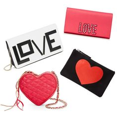 "Shop Kerry Washington's Adorable ""Love"" Clutch and 9 More Cupid-Approved Picks  #InStyle"