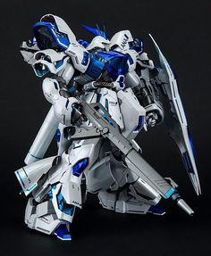 GUNDAM GUY: MG 1/100 Sazabi Ver. Ka ANA Ver. - Painted Build