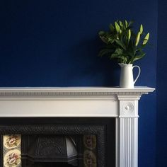 Little Greene Paint Company Deep E Blue