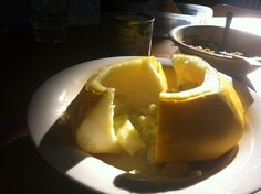 Patisson Superlekker met dolce gorgonzola uit de oven! Mmm - By Anouk