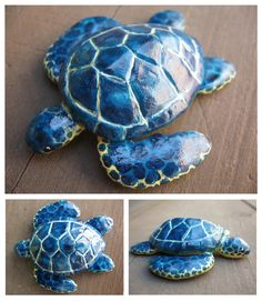 Clay Sea Turtle by unistar2000.deviantart.com on @deviantART
