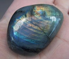 Labradorite  stone specimen  polished tumbled  by CoyoteRainbow, $6.00