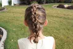 Knotted Braid (Back) back to school hair