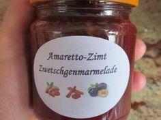 Amaretto-Zimt Zwetschgenmarmelade - Health and wellness: What comes naturally Healthy Dessert Recipes, Cupcake Recipes, Smoothie Recipes, Snack Recipes, Smoothies, Healthy Eating Tips, Healthy Foods To Eat, Chutneys, Kneading Dough