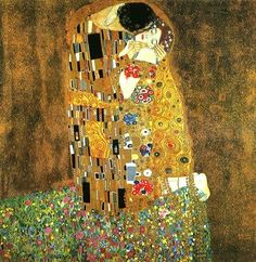 """The Kiss"" by Gustav Klimt"