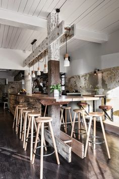 Bar The Nelson Melbourne Desire to inspire via Nat et nature