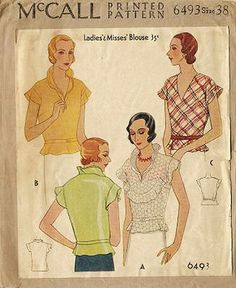 mccall blouse 6493   Flickr - Photo Sharing!