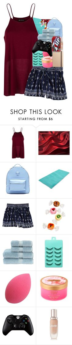 """""""645"""" by glitterals ❤ liked on Polyvore featuring MANGO, Versace, Angie, Christy, Victoria's Secret, Microsoft, La Mer and Shinola"""