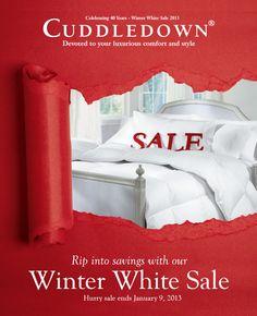 Winter White Sale 2013