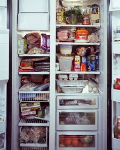 Photographer takes voyeuristic peek inside refrigerators | The Splendid Table
