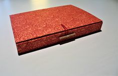 kostas boudouris / bookbinding_papercrafting: Handmade box with papers for calligraphy