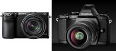 Olympus E-M5 vs Sony NEX-7 - Which one would you want?