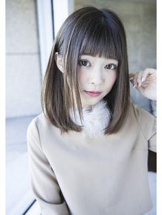 エストリア 栄店(ESTREA)エストリア栄店 オトナ可愛いぱっつん前髪by平岩