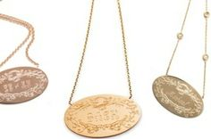 Marina's Must-Haves on Style.com. Garland Collection Signature pendants for Mother's Day!