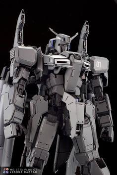 Master Grade Zeta Plus - Customized by Joshua Darr Gunpla Custom, Custom Gundam, Transformers, Zeta Gundam, Gundam Art, Gundam Toys, Gundam Mobile Suit, Mecha Anime, Mechanical Design