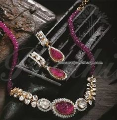 Ruby Beads Sets by Pratibha Jewellery
