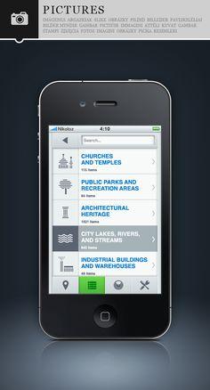 interface - iphone app