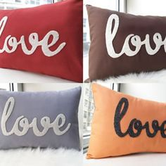 pillow design love - Buscar con Google