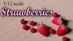 Réalisation de fraises en fimo