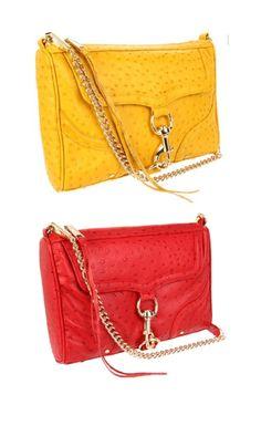 Red Handbags! Yellow Handbags!
