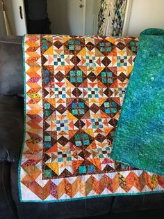 Nice layout of Bonnie's On Ringo Lake mystery quilt