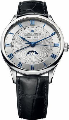 Maurice Lacroix Masterpiece Phase de Lune Mens Watch MP6607-SS001-110