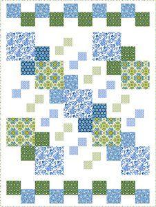 Urban Chic quilt - free pattern