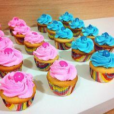 Cupcakes temáticos. (Foto: Divulgação)
