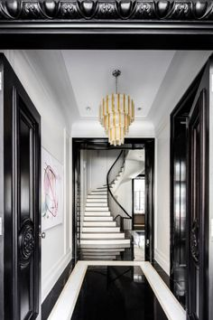 Inside Rupert Murdoch's New York City mansion | entrance | hallway | www.vogue.com.au