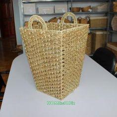 Home24h co,.ltd: Log Baskets Water Hyacinth material Home24h / Wicker Baskets - Home24h.biz
